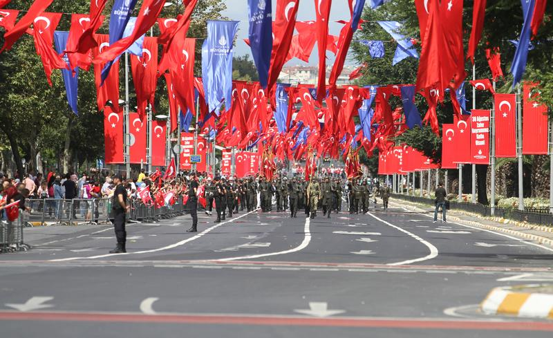 30 August Turkish Victory Day immagine stock