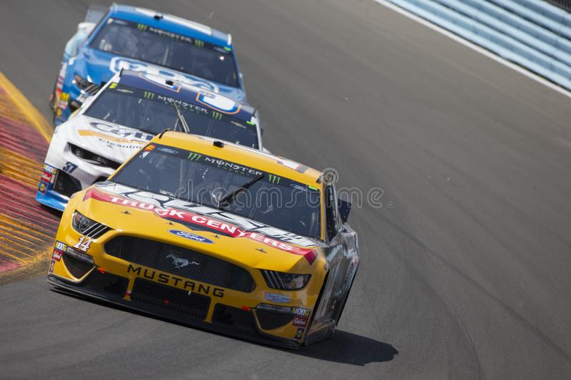 NASCAR: August 04 Go Bowling at The Glen stock photography