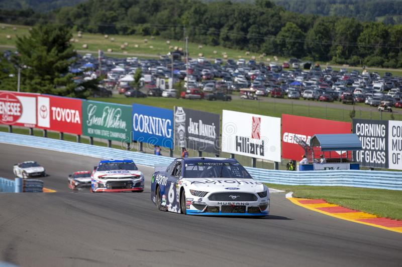 NASCAR: August 04 Go Bowling at The Glen royalty free stock images