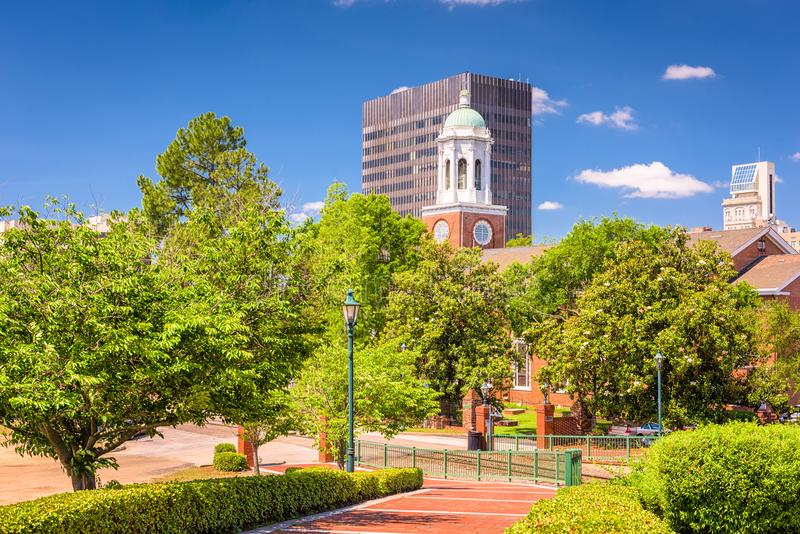 Augusta, Georgië, de V.S. Horizon stock afbeelding