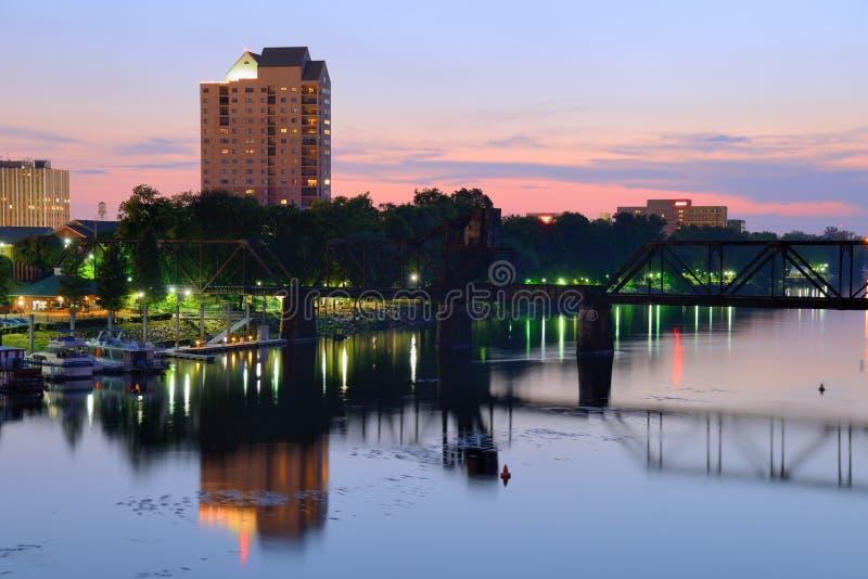 Augusta, Georgia fotografie stock libere da diritti