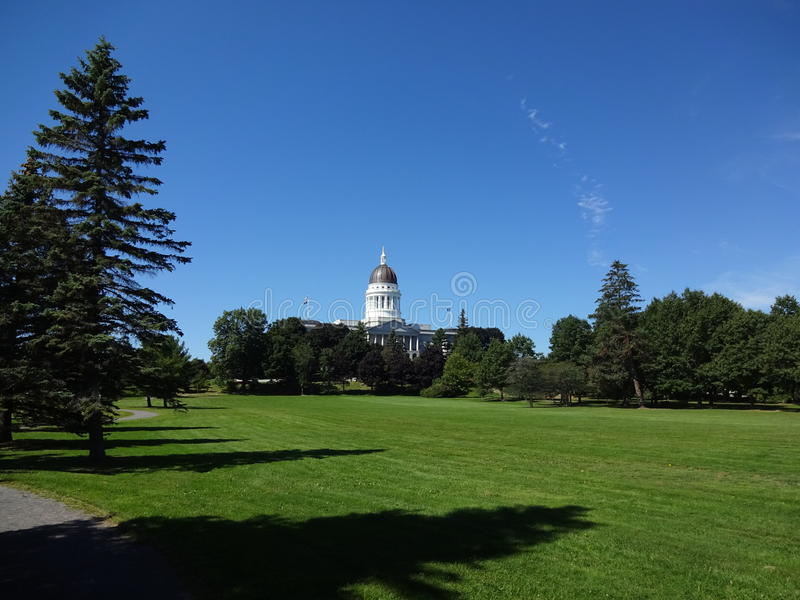 Augusta, Maine Capitol 2 royalty free stock image