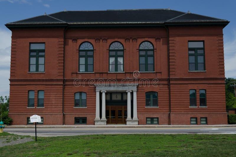 Augusta, Maine City Hall lizenzfreie stockfotos