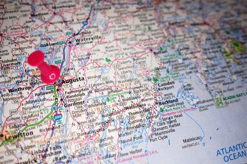 Augusta, Maine stock image