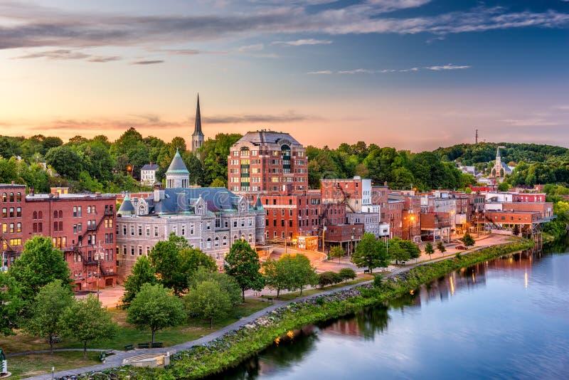 Augusta, Maine, U.S.A. fotografie stock libere da diritti