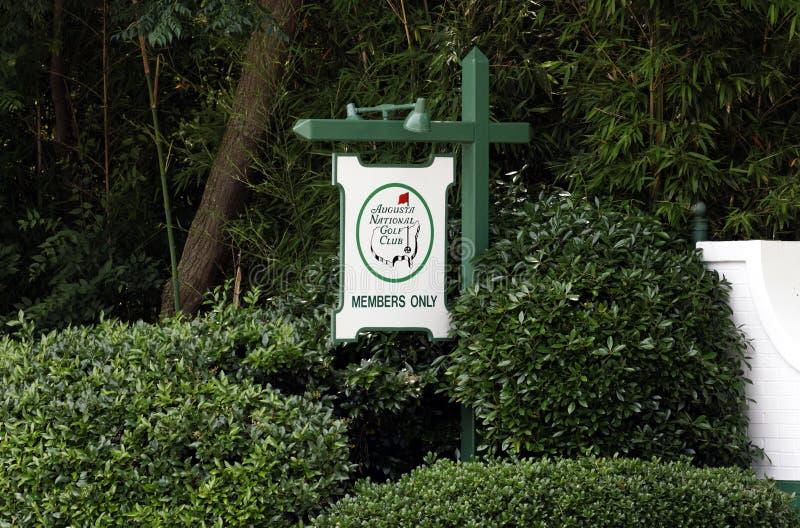 Download Augusta National Golf Club fotografia editorial. Imagem de confidencial - 65576017