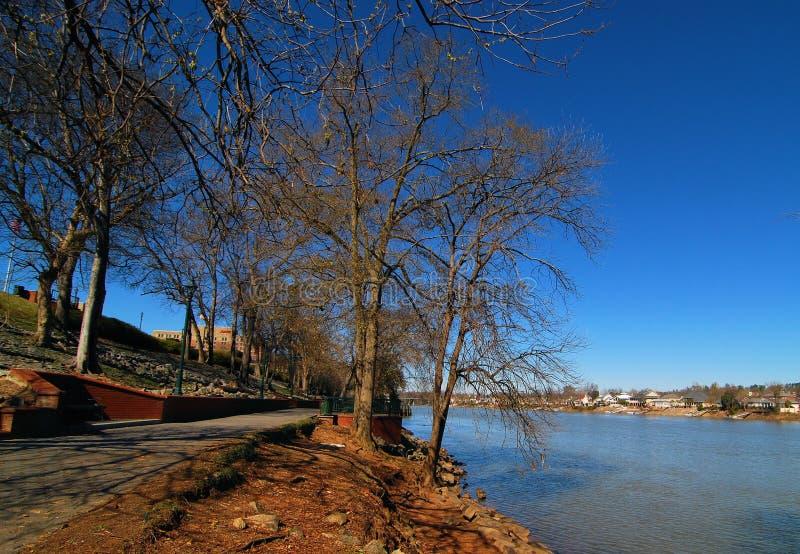 Augusta River Walk fotografia stock libera da diritti