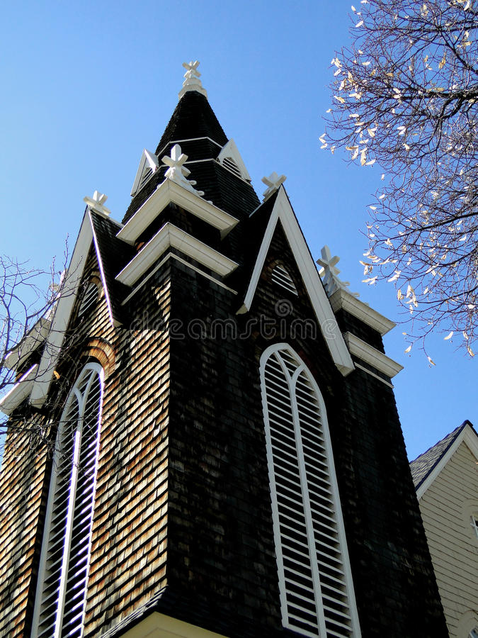 Augustana Swedish Lutheran Chapel royalty free stock images