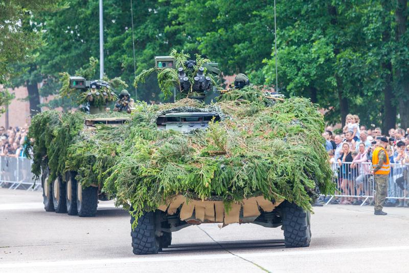 German armoured fighting vehicle GTK Boxer stock photography