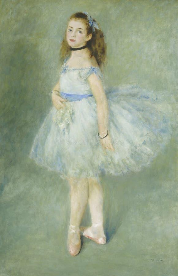Auguste Renoir - tancerz obrazy stock