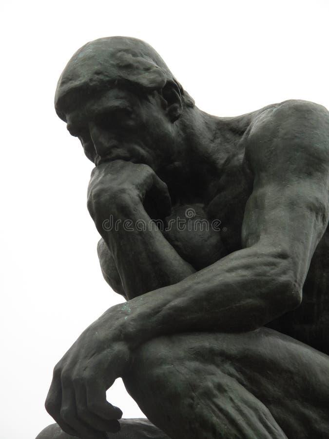 Auguste Rodin Pensieve obraz royalty free