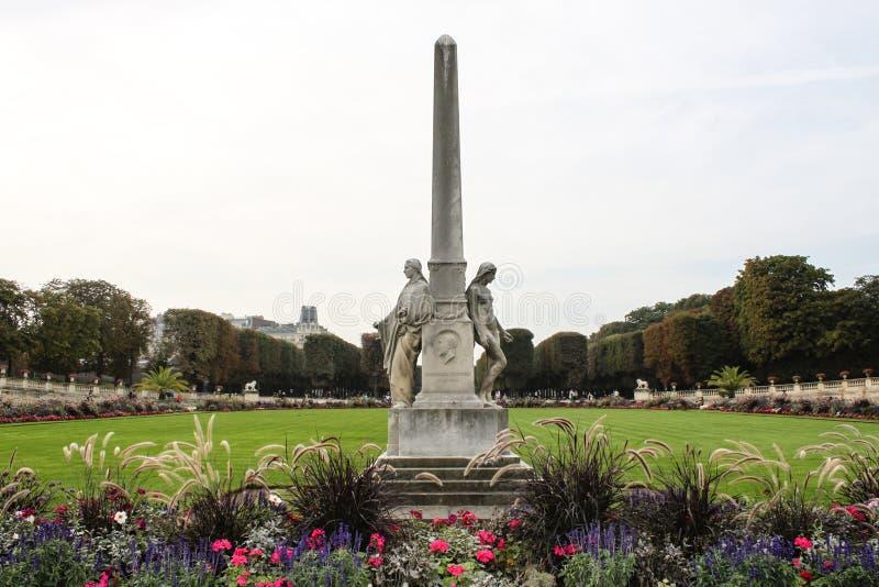 Auguste Scheurer-Kestner pamiątkowy collumn w Paryż obrazy stock