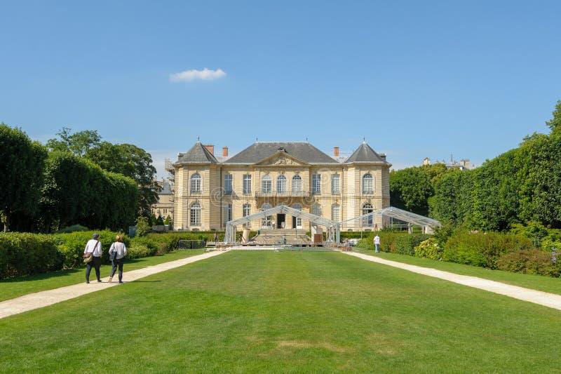 auguste wystawia France francuskie muzealne Paris rodin rzeźbiarza pracy zdjęcie stock