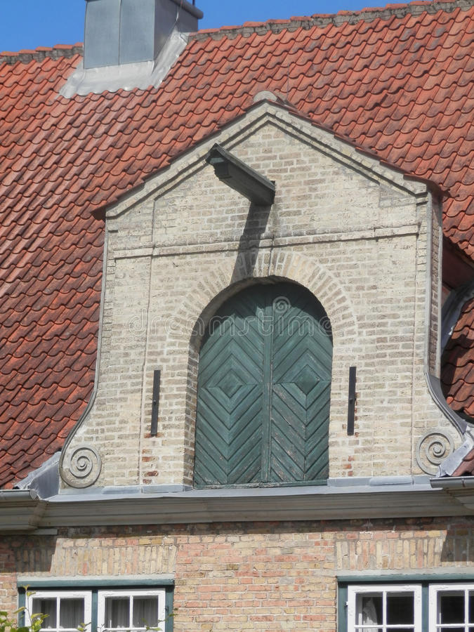 Augustenborg宫殿细节 库存照片
