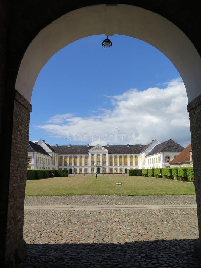 Augustenborg王宫 免版税库存图片