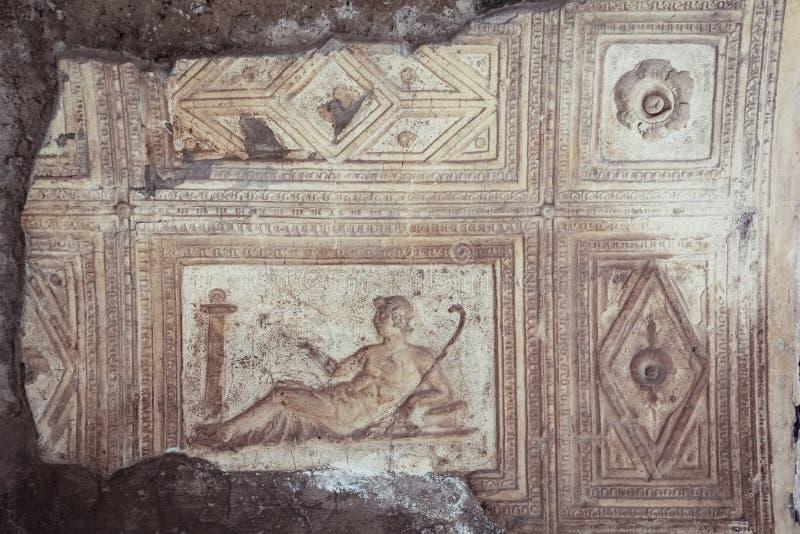 Augusteum lub bazylika Herkulaneum Neapol Włochy obraz stock