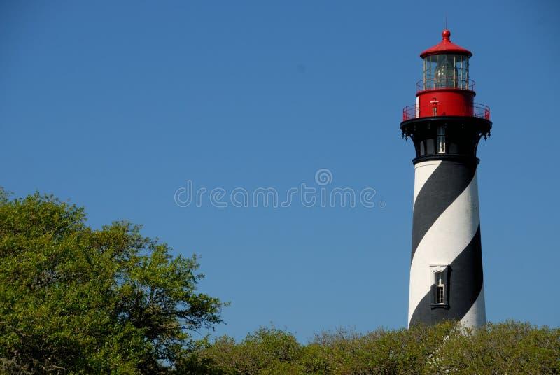 augustine latarni morskiej st zdjęcie royalty free