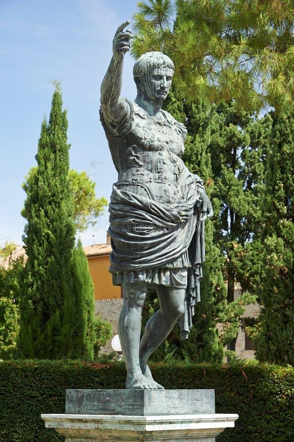 Augustus императора стоковая фотография rf