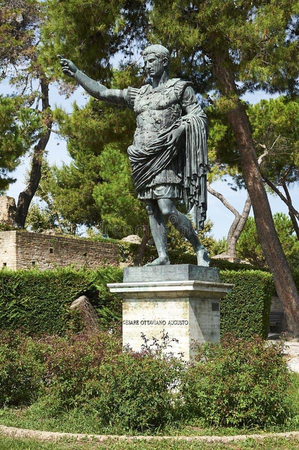Augustus императора стоковое фото rf