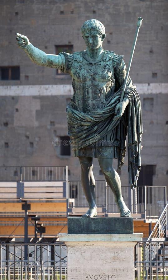 Augustus императора стоковые изображения
