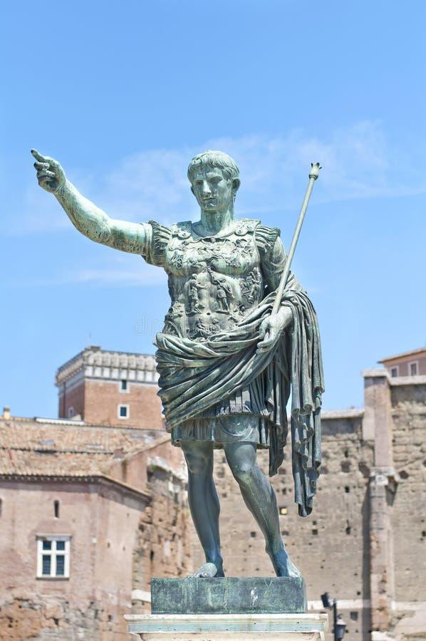 Augustus: император стоковое фото rf