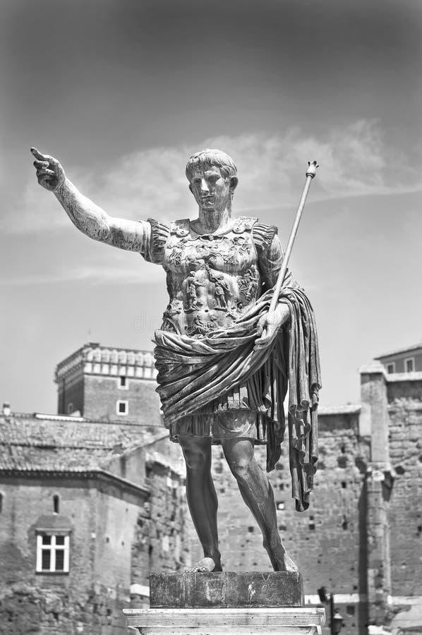Augustus: римский император стоковое фото