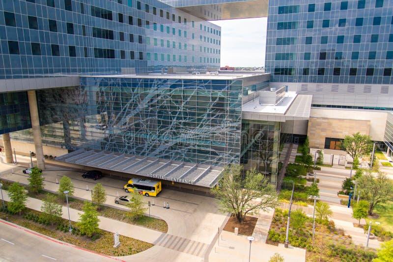 19 augustus, 2015 - Dallas, Texas, de V.S. De nieuwe toevoeging aan Parkl stock afbeelding