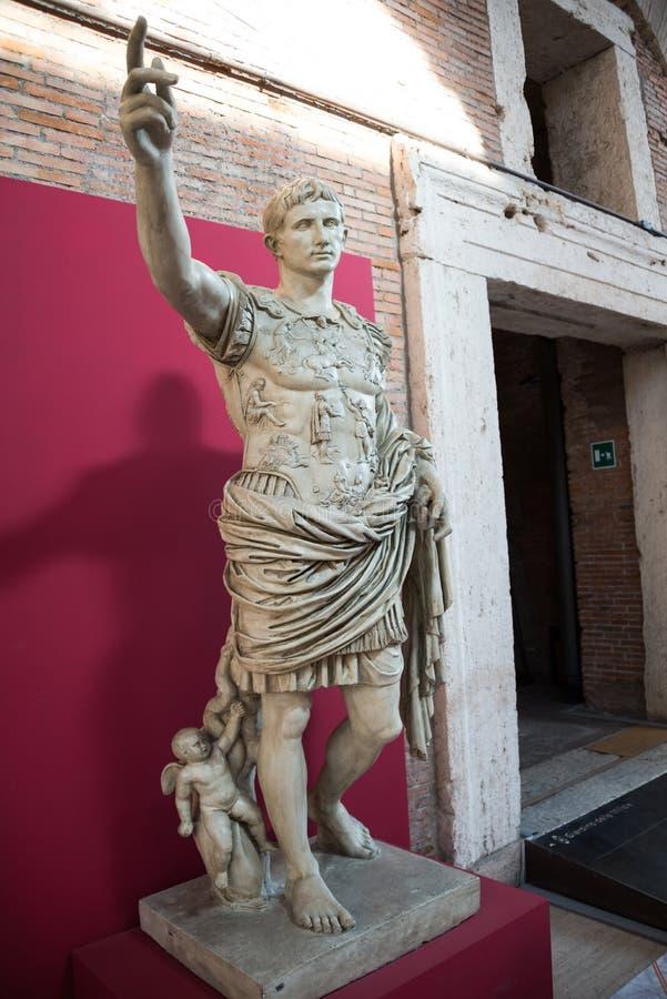 Augustus de Prima Porta fotos de stock