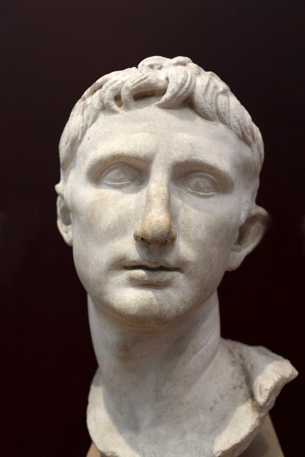 Augustus do imperador fotografia de stock