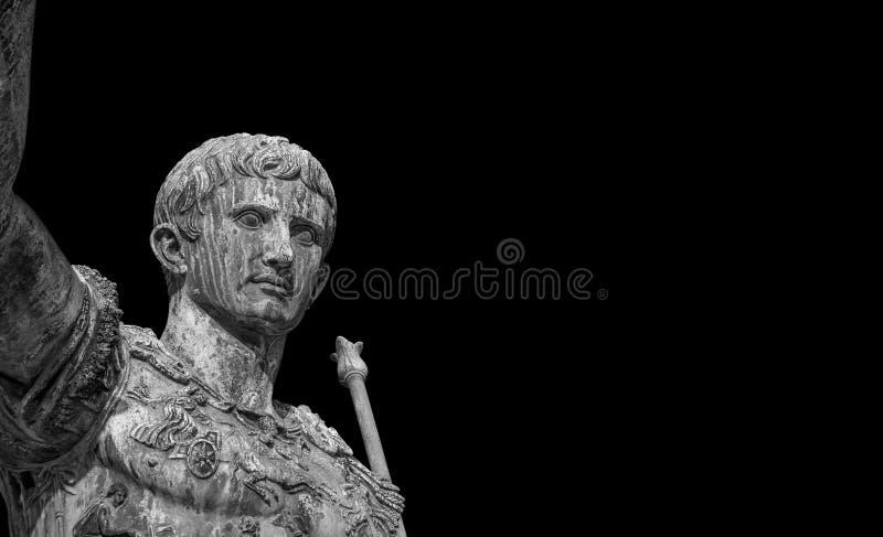 Augustus kejsare av Rome fotografering för bildbyråer