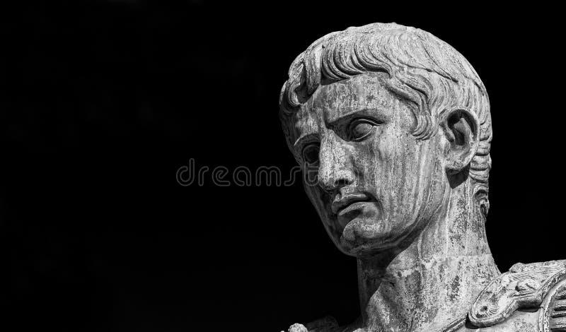 Augustus kejsare av Rome royaltyfri fotografi