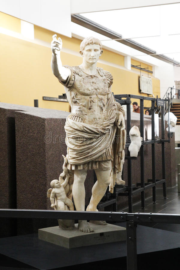 Augustus Prima Porta стоковое фото rf
