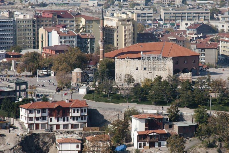 Download Augustus Temple & Hacı Bayram Mosque Stock Image - Image: 22639521