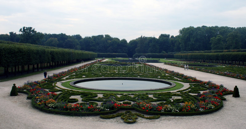 augustusburg садовничает Германия стоковое фото