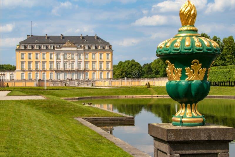 Augustusburg pałac - Rokokowy arcydzieło obraz royalty free