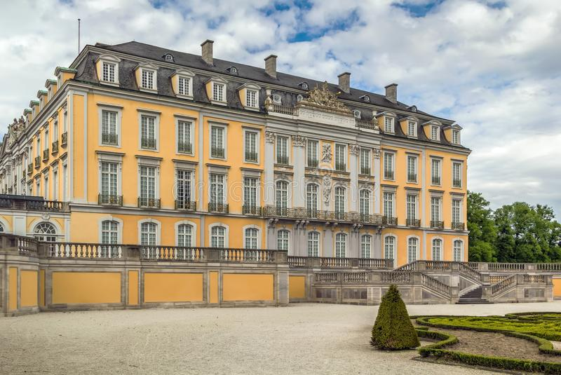 Augustusburg slott, Bruhl, Tyskland royaltyfri fotografi