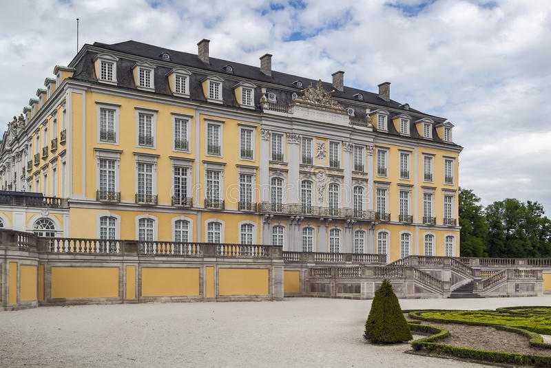 Augustusburg slott, Bruhl, Tyskland arkivbild