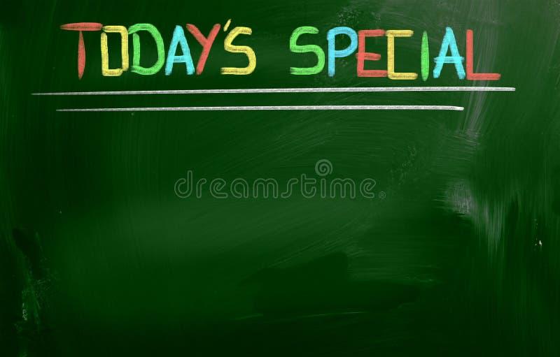 Aujourd'hui concept de Special du ` s photographie stock