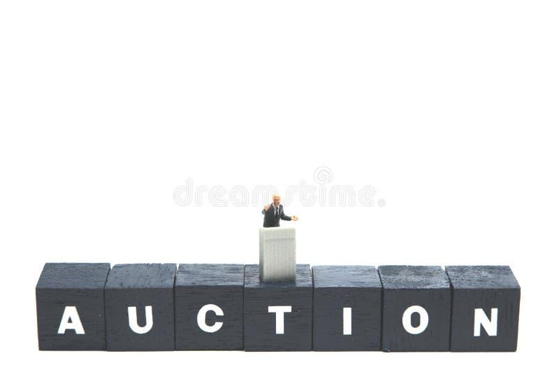 auktion arkivfoto
