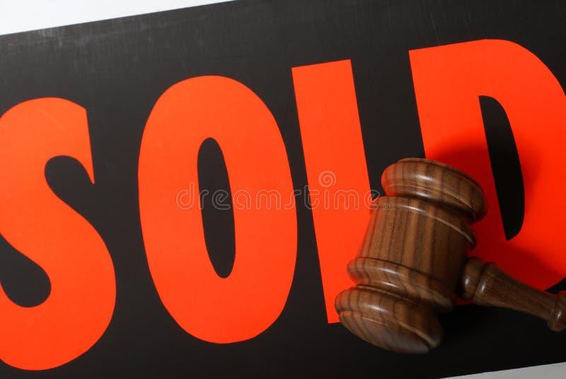 Auktion Sale fotografering för bildbyråer