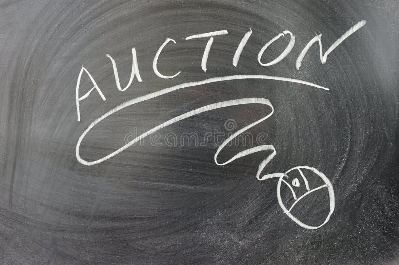 Auktionswort lizenzfreies stockfoto