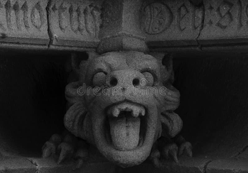 Aullido del dragón fotografía de archivo libre de regalías