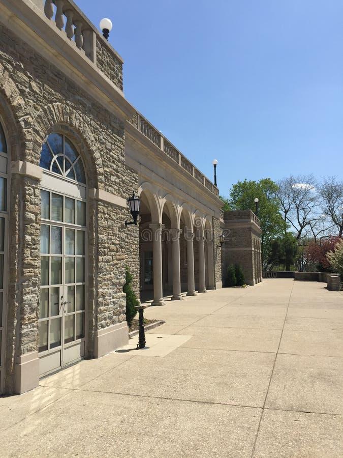 Ault parkerar paviljongen i Cincinnati ohio royaltyfri fotografi