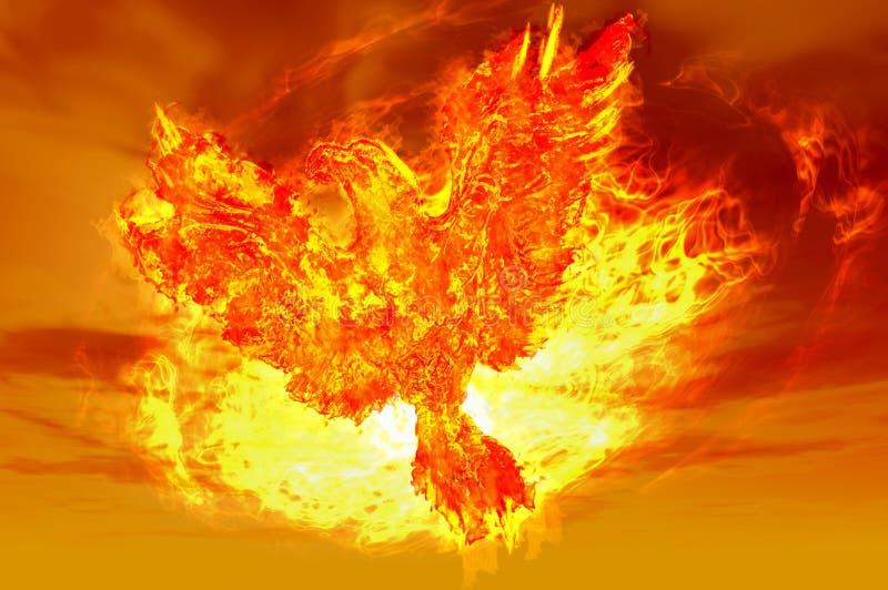 Aumentare di Phoenix illustrazione di stock