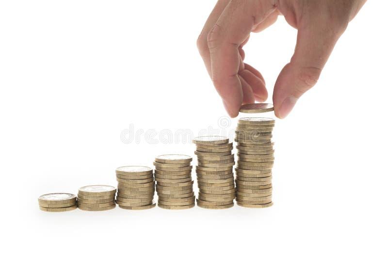 Aumente suas economias fotos de stock royalty free