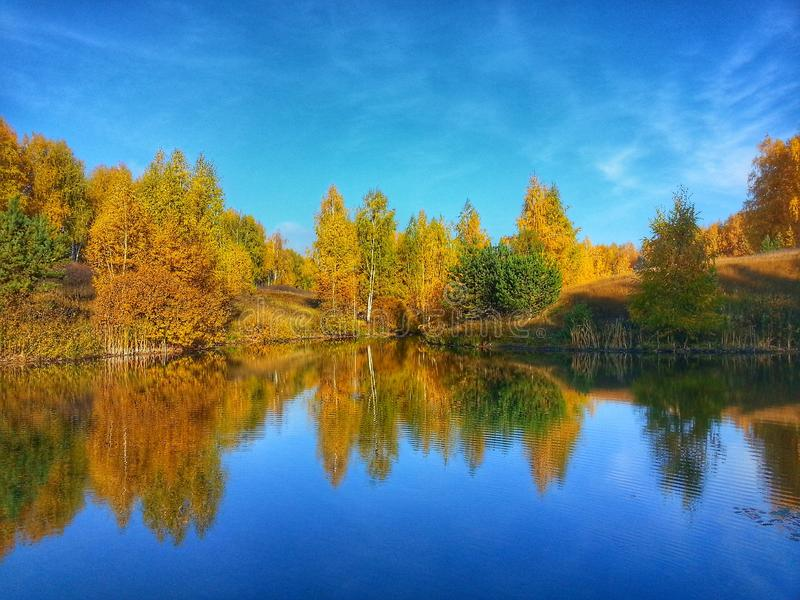 Aumento del fiume fotografie stock libere da diritti
