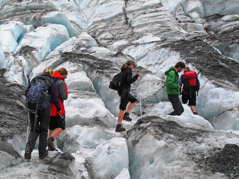 Aumento del ghiacciaio immagine stock