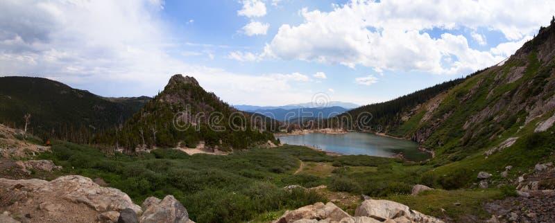 Aumento del ghiacciaio di Colorado fotografie stock libere da diritti