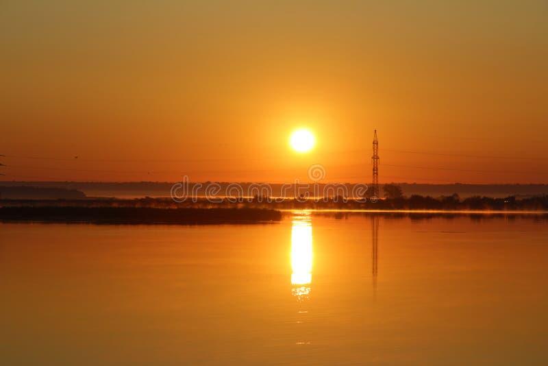Aumento di Sun fotografie stock libere da diritti
