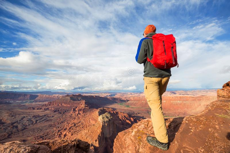 Aumento nell'Utah fotografia stock libera da diritti